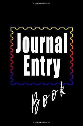 Journal Entry Book: 6 x 9, 108 Lined Pages (diary, notebook, journal)