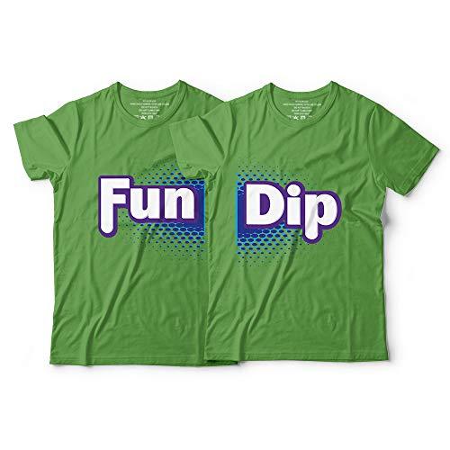 Fun-Dip Matching Couple Halloween Costume Candy Team Kids Youth Adults Customized Handmade Hoodie/Sweater/Long Sleeve/Tank Top/Premium T-shirt