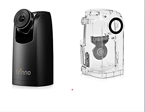Brinno TLC200PRO HDR Time Lapse Video Camera and ATH120 Weather Resistant Housing Bundle-Flexible Schedule Setup-Weatherproofing for Outdoor Environments