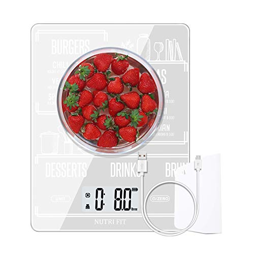 Rechargeable Food Scale Digital