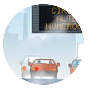 alfombrilla de ratón La contaminación y el tráfico 2 - ronda - 20cm