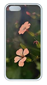 Flower Shades TPU White make iphone 5S cover for Apple iPhone 5/5S