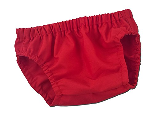 Juxby Kids Baby-Boys Diaper Cover In Solid Red-12m