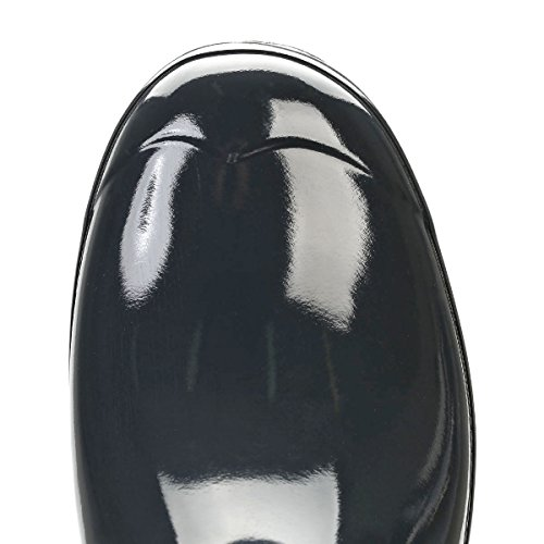 Hunter Orignal Short Pizarra Oscura Gloss Mujeres Wellington Botas