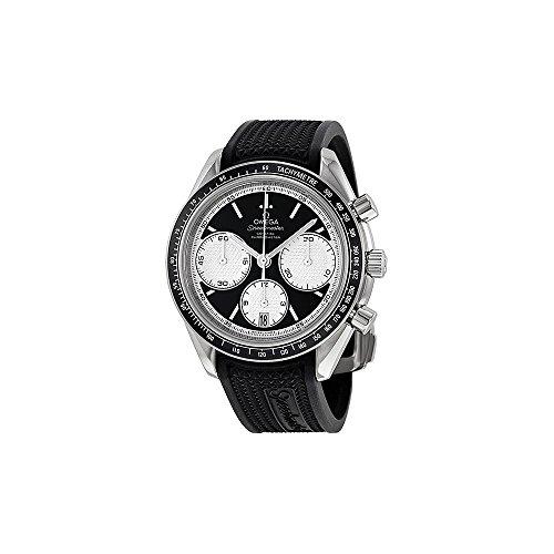 omega mens black watch - 8