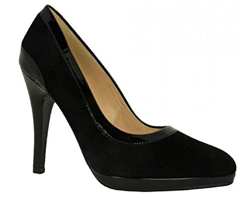 Henrike Henrike Chaussure Blk Court Blk Suede Chaussure Suede Court Chaussure CqwHHZ