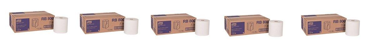 Tork Advanced rb800 Hardwoundロール紙タオル、1-ply、7.87