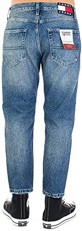 Tommy Jeans Męskie Jeanshose, Blau 31W x 32L: Odzież