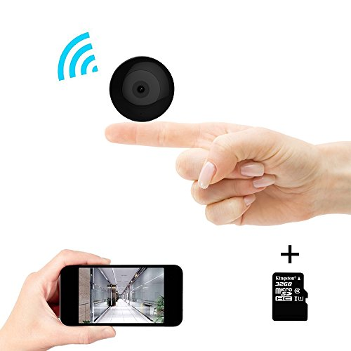 2017 New Designs C2 Mini 32GB Spy Hidden Micro Cameras Wifi Wireless IP Baby Home Monitoring Cam with Night Vision