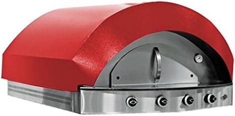 Horno de gas para pizza, color rojo: Amazon.es: Grandes electrodomésticos