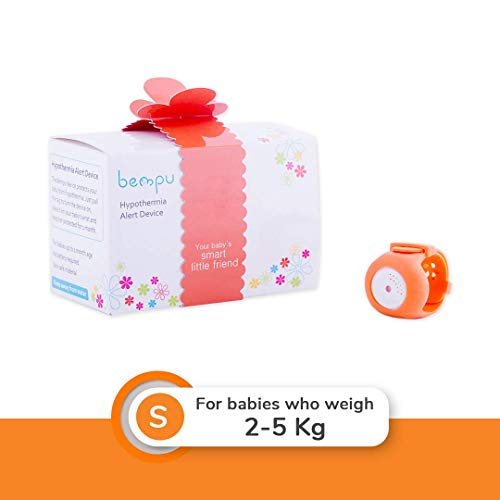BEMPU TempWatch - Newborn Baby (2 to 5 Kgs) Hypothermia/Low Body Temperature Monitor Device