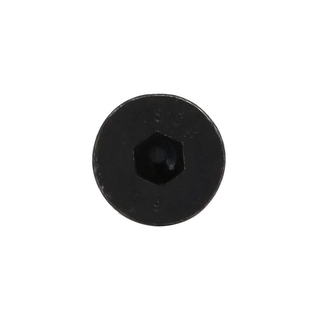 2pcs M6x30mm T/ête frais/ée vis /à filetage /à gauche fixation DIN7991
