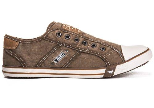 Mustang Shoes Herren Schuhe Sneaker sand Sand