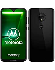 "Motorola Moto G7, Smartphone Android 9.0, Display 6,2"", Dual Camera da 12Mp, 4/64 GB, Dual Sim, Ceramic Black"