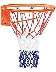 Basketball Net Heavy Duty Outdoor All Weather Basketball Nets Backboard Accessories Replacement for Standard Rim Hoop