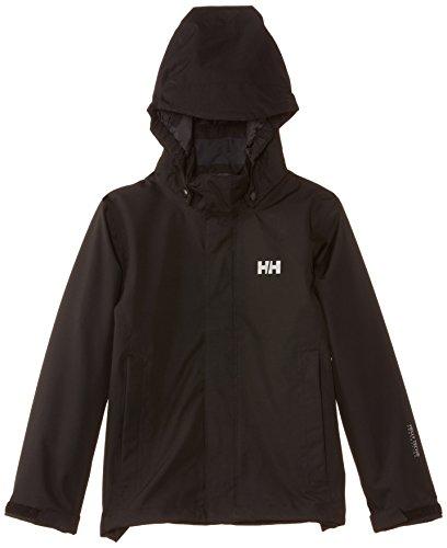 Helly Hansen Junior Seven J Jacket, Black, 10
