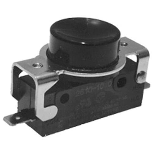 Hobart 87711-183-1 Switch Momentary On/Off Black Pushbutton 2 Terminals For Hobart Mixer 421682
