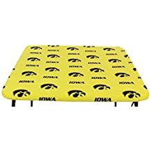 """College Covers Iowa Hawkeyes Card Table Cover, 33 by 33"""""""