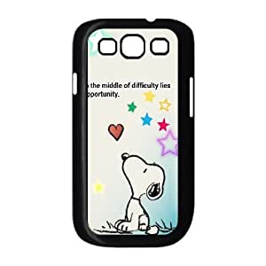 Cute dog Joe cool Snoopy Hard Plastic phone Case Cover For Samsung Galaxy S3 ZDI078277