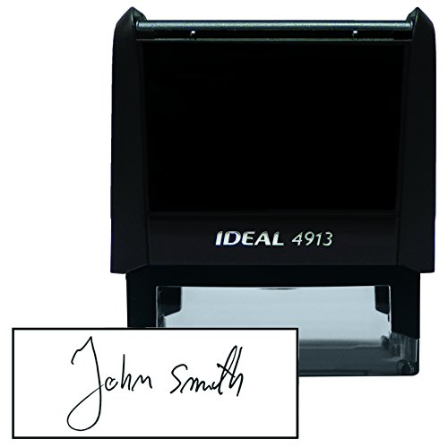 Custom Signature Stamp 7/8'' x 2-3/8''