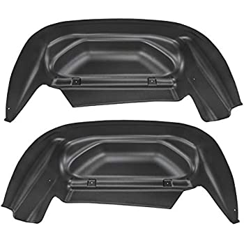 Husky 2014-2019 Chevy Silverado DOUBLE CAB Rear Wheel Well Guards Flaps Fender