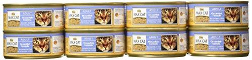 MAX CAT Adult Cat Food Oceanfish Formula Cans, 5.5 Ounce, 24