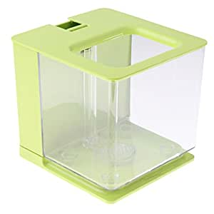 MagiDeal Pecera Cuadrada de Acrílico Accesorios Filtra Automáticamente Función de Circulación de Agua: Amazon.es: Hogar