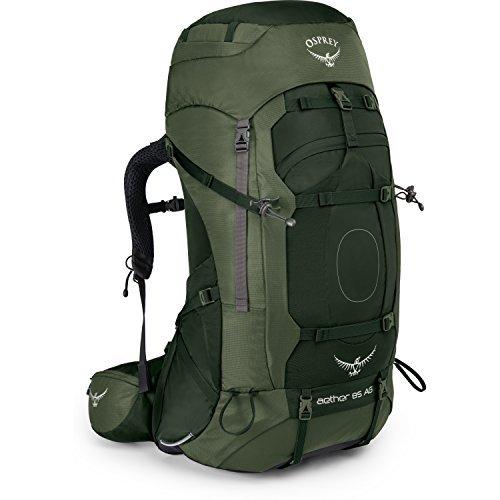 Osprey Aether AG 85 Hiking Backpack Large Adirondack Green [並行輸入品] B07DVQ1WKD