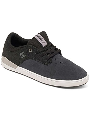 Dc Shoes Mikey Taylor 2 S Zapatillas De Caña Baja, Color: Grey/Black, Size: 42.5 EU (9.5 US / 8.5 UK)