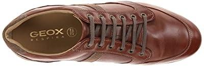 Geox Men's Symbol Lace-Up Fashion Sneaker