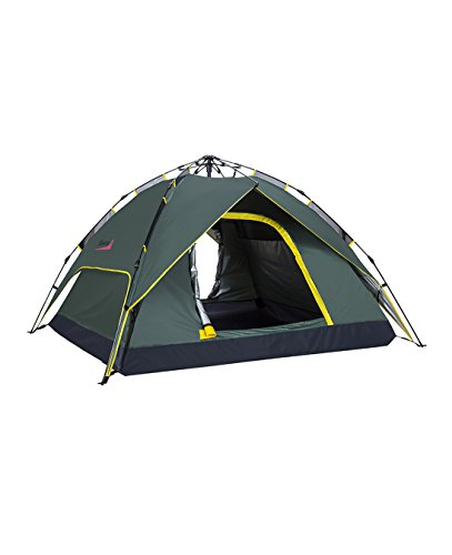 Makino-2-3-person-Instant-Tent-with-rainfly-for-CampingBackpacking-Mountaineering-Army-Green-0087