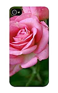 lintao diy Ellent Design Pink Roses Phone Case For Iphone 5/5s Premium Tpu Case For Thanksgiving Day's Gift