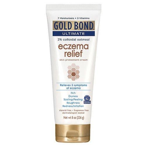 Gold Bond Ultimate Eczema Relief Skin Protectant Cream, 8oz