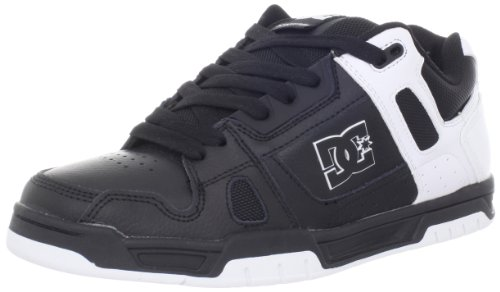 DC Herren Stag Sneaker Schwarz / Schwarz / Weiß