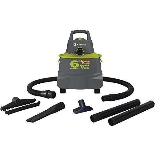 Koblenz WD-6 K 6-Gallon Wet/Dry Vac with Detachable Air Blower - Corded