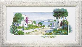 「オーシャン パス」ピーターモッツ風景画アートポスター作品 B00ZWGI3C4