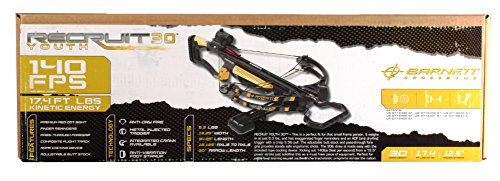 *Barnett Recruit Youth Light 30 78651 Yth Crossbow Pkg. w/Re