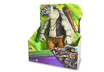 Tortugas Ninja 2 Figura Rocksteady: Amazon.es: Juguetes y juegos