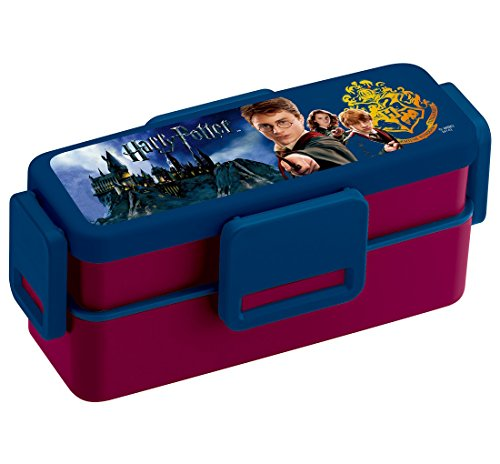 Harry Potter 4-Point Lock Two-Stage Lunch Box