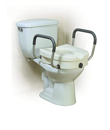 Marvelous Amazon Com Drive Medical A Elevated Toilet Seat W Arms 2 Pdpeps Interior Chair Design Pdpepsorg