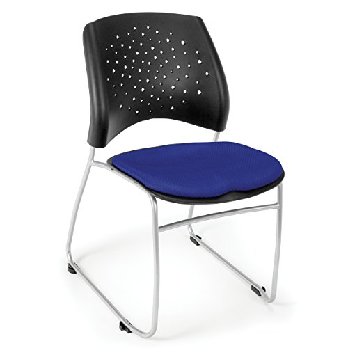 OFM 325-2210 Stars Stack Chair with Fabric - Ofm Vinyl Stackable