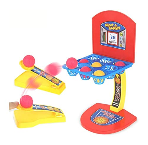 Vikas gift gallery Finger Basketball Table Shooting Game with 9 Pockets for 2 Players Fun Sports Toy for Kids