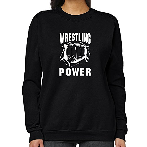 Teeburon Wrestling POWER Women Sweatshirt by Teeburon
