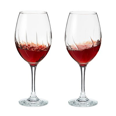Borgonovo Safe Cup Aerating Wine Glass, 18 Ounce - Set of 2