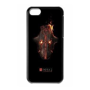 iphone5c Black phone case Juggernaut Dota 2 DOT9975362
