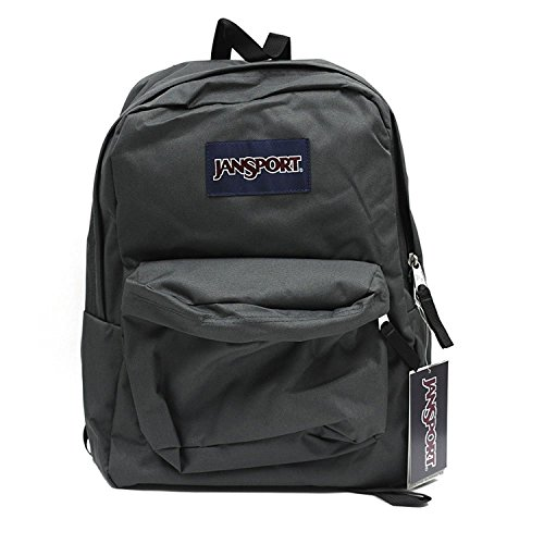 JANSPORT SUPERBREAK BACKPACK SCHOOL BAG - Forge Grey (Teen Backpacks Jansport)