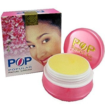 1 Dozen Pop Popular Facial Whitening Cream for Face 4g
