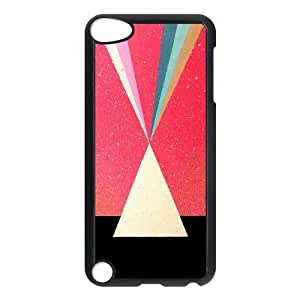 Good Quality Phone Case Designed With Triangle Pattern For iPod Touch 5