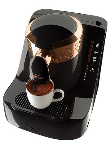 Arzum Okka Automatic Turkish Greek Coffee Machine, USA 120V UL, Black Copper