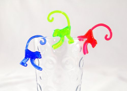 Monkey Picks - Monkey Cocktail Drink Markers - Pack of 72 ()